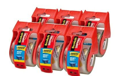 Shipping Packaging Tape 1.88 Inches X 800 Inches With Dispenserpack Of 6