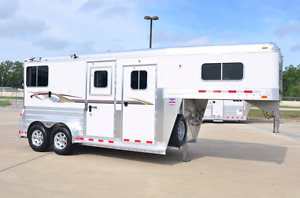 Wanted- 4 Star or Cimarron 2 Horse Straight load Gooseneck