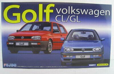 Volkswagen Golf CL / GL Bausatz FUJIMI Maßstab 1:24 OVP NEU