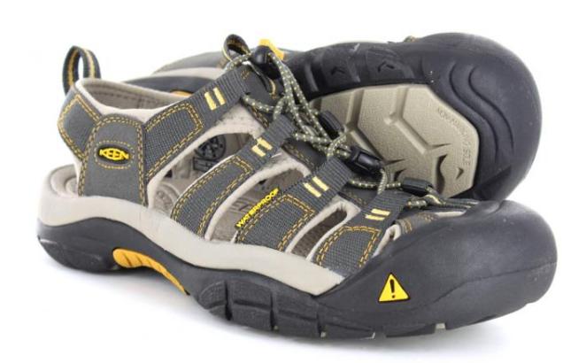 Keen Newport H2 Raven/Aluminum Sport Sandal Men's sizes 7-17 NEW!!!