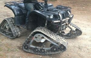 2005 Yamaha grizzly 660 with tracks Kingston Kingston Area image 3