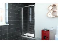 760mm bifold door for shower tray brand new , ordered wrong size