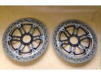 Honda CBR1100XX Blackbird discs