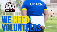 South Windsor Youth Soccer Club Needs Volunteers!