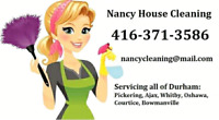 House Cleaning Durham area