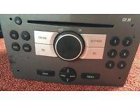Vauxhall Opel Zafira Astra cd30 radio stereo CD player GM