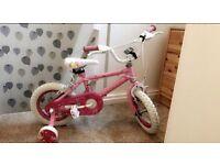 "Girls 12"" Princess Bike"