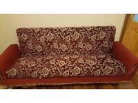 Nice Convenient 3 Seater Sofabed/ Settee with Under Storage Can Deliver for £5