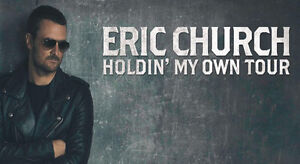 ERIC CHURCH :: FRONT ROW PIT :: MARCH 2
