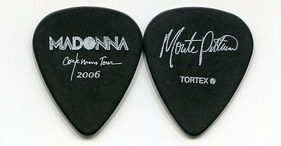 MADONNA 2006 Confessions Tour Guitar Pick!!! MONTE PITTMAN custom concert stage