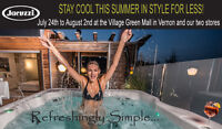 Beat the heat with sizzling Jacuzzi summer savings!