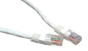 Network Ethernet Cable Cat5 e 10/100 LAN RJ45 Lead 25cm 1m 2m 3m 5m 10m 15m 20m