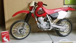 Scaled Model 1996 Honda XR 400R Motocross Dirt Bike Motorcycle Merrylands Parramatta Area Preview