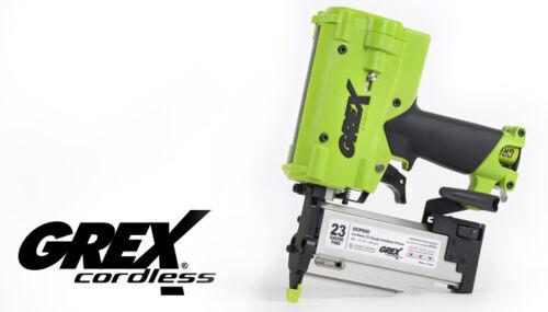 "Grex GCP650 2"" 23 Ga Cordless Headless Pinner & Edge Guide, Bare Tool"
