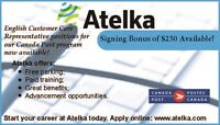 Customer Service team - Canada Post at Atelka