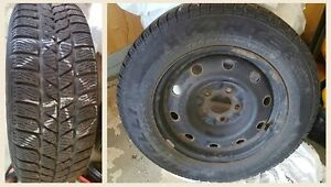 pirelli snow tires on rims Sarnia Sarnia Area image 1