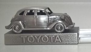 Toyota Pewter Car Desk Paperweight