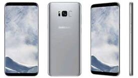 Samsung galaxy s9 comes in black whit working silver all sealed in box