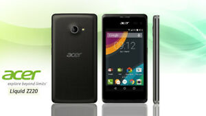 ACER Liquid Z220 DUAL-SIM Unlocked Android Cell Phone