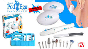 Brand New Ped Egg Proffessional Manicure Pedicure DIY Save Money