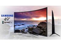 Samsung 49 Inch Full HD LED Curved Smart TV in Excellent Condition