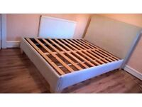 WOOD DOUBLE BED FRAME ** FREE DELIVERY AVAILABLE *mattress available