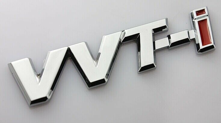 3D Metal Car Badges Emblems Stickers Decals For VVT-i Engine performance NEW