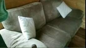 **Free***Chunky, Beige, Comfy, Two Seater, settee