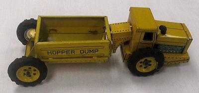 Dump Hopper (VINTAGE LINE MAR TOYS HOPPER DUMP TRUCK MADE IN JAPAN ****)