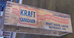 Vintage Kraft Canadian Wood Box, Outremont, Que, 2 Pounds Net Kitchener / Waterloo Kitchener Area image 2