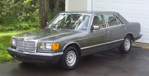 Looking for a donor car w126 in gunmetal grey
