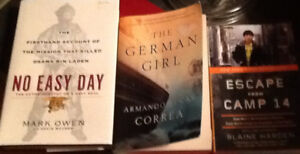3 GOOD READS! 2 nonfiction, 1 historical fiction:ESCAPE FROM CA