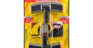 NEW - Victor Heavy Duty Tubeless Tire Repair Kit - OVER 1/2 OFF.