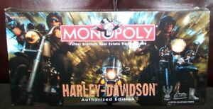 Official Harley Davidson Monopoly - Unopened