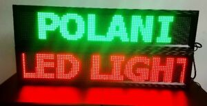 "BLACK FRIDAY SALE: WINDOW LED SIGN 3 COLORS (40""X8"") $149.99"