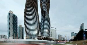 Mississauga square one luxury condo for rent