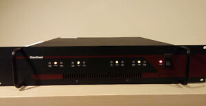 Gentner AP-870 8 Channel Power Amplifier (4-8 Ohm/ 70 Volt)