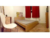 Wonderful bed frame color light wood
