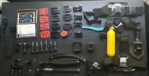 GoPro Hero with 30+ Accessories & TriPod! Great Deal.