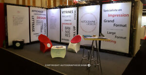Kiosque  d'exposition modulable/ Stand / Booth