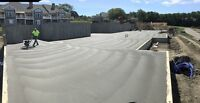 Concrete stairs,garages,slabs,pads & more