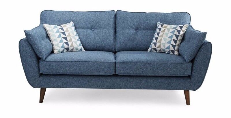 dfs french connection 3 seater sofa in dulwich london. Black Bedroom Furniture Sets. Home Design Ideas