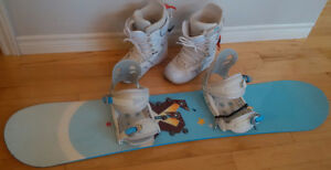 Rossignol / Burton Snow Board with Boots & Bindings London Ontario image 1