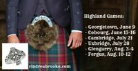 Summer schedule of Highland Shows