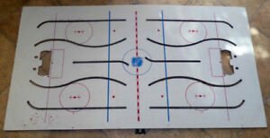 Vintage Coleco Stanley Cup Play-Off Table Top Hockey Board Only