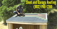 Shed and Garage Roofing Specialist.