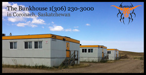 Accommodations - Workforce housing camp in Coronach