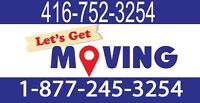 (416) 752-3254 Moving Company - Special Deals