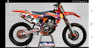 2017 and up Factory Red Bull Graphics Kit