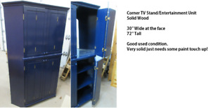 Corner Entertainment Unit / TV Stand